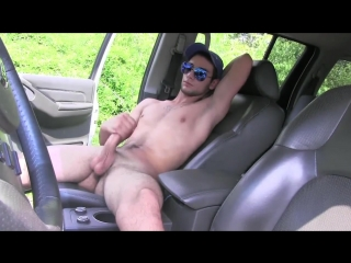 Hc_jackoff in car_nice balls