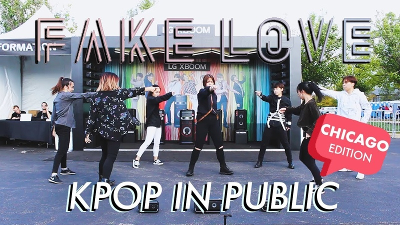 [R.P.M x LG XBOOM GIVEAWAY] BTS Fake Love [KPOP PUBLIC DANCE IN CHICAGO]