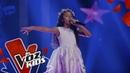 Ana Sofía canta Un Mundo Ideal en los Rescates La Voz Kids Colombia 2019