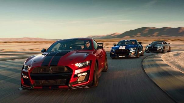 Ford Mustang GT500 стал самым мощным в истории.