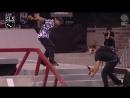 Manny Santiago / Varial Heelflip 50-50 down this rail