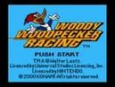 Woody Woodpecker Racing GBC Music Dirt Stadium