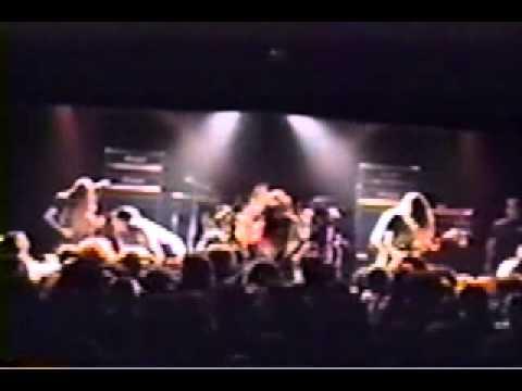 CARCASS LIVE HOUSTON TEXAS 10 11 1990 RIOT SHOW WHOLE GIG
