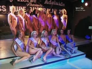 Мисс обнаженная Австралия 2008.эротика.HD