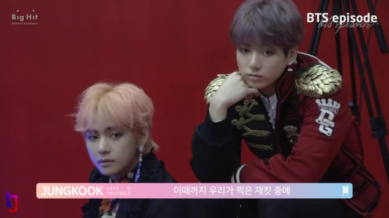 [EPISODE] BTS LOVE YOURSELF 結 Answer Jacket shooting sketch | TaeKook moments