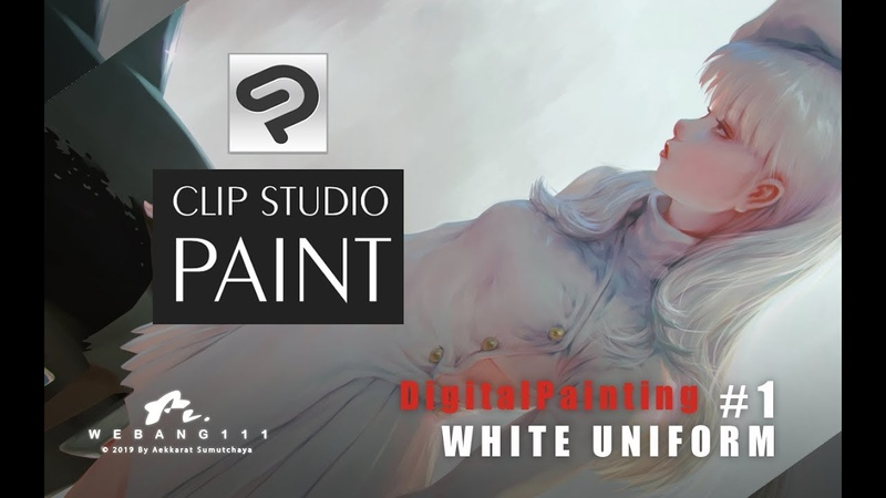 CLIP STUDIO PAINT White Uniform 1