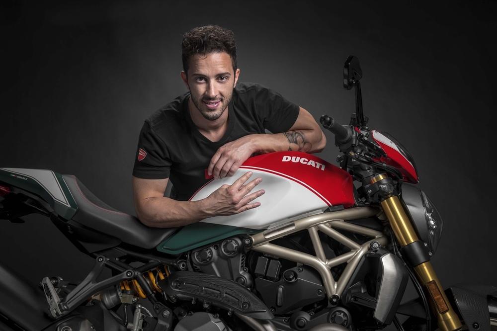 Юбилейный мотоцикл Ducati Monster 1200 25° Anniversario