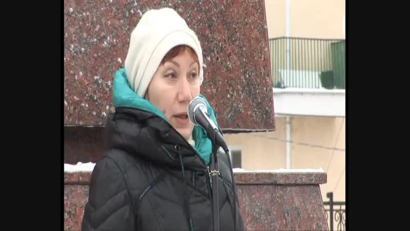 Митинг в Старом Осколе 25,12,2016. Посвящено оборотням в погонах.