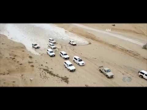 Наводнение в пустыне никогда такого не видели Саудовская Аравия