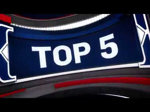 NBA Top 5 Plays of the Night October 21 2018