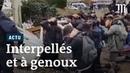 Mantes la Jolie images choquantes de lycéens interpellés par la police