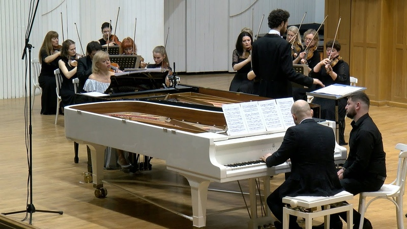 J.S. Bach Concerts for two pianos and orchestra 1062 soloist Svetlana Berezhnay Istvan Isaak Zekeli
