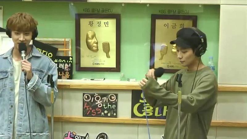 [LIVE] 170605 KNK Jeong Inseong Oh Heejun Sing at Hongki's Kiss the radio