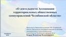 Заседание Координационного совета по взаимодействию с ТОС города Челябинска доклад Бодрова В.В.