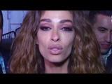 Eleni Foureira cries after Eurovision 2018