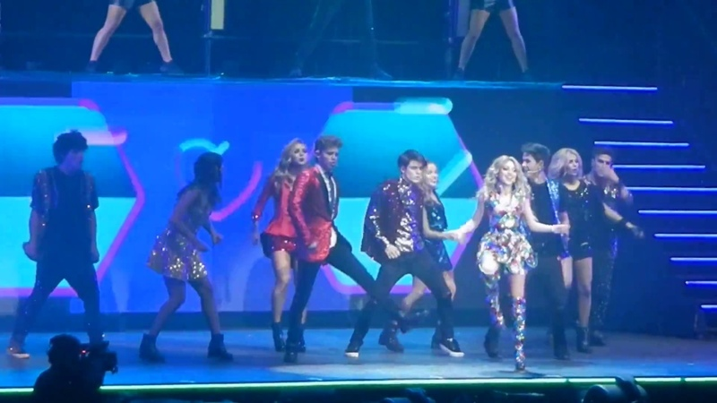 Soy Luna en Vivo - Luna Park 2018 - Elenco - I´ve Got a Feeling