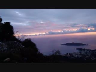 Закат над Будвой
