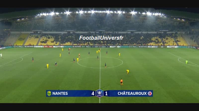 Nantes (L1) vs Chateauroux (L2) 4-1