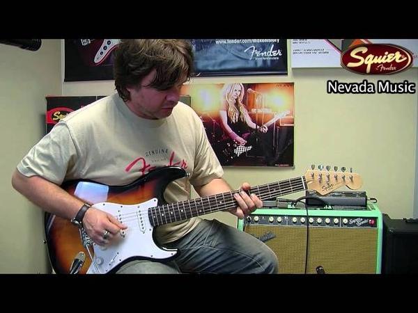 Squier Bullet Strat's - Damon from Fender @ PMT