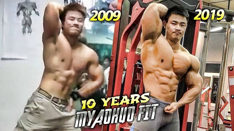 MODIFIED NEW VERSION⎟IFBB PRO CHEN KANG⎟10 YEARS TRANSFORMATION⎟MOTIVATION