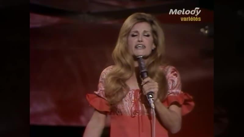 Dalida ♫ Gigi L`Amoroso ♫ 28 février 1974 ♫ Taratata (2e chaine)