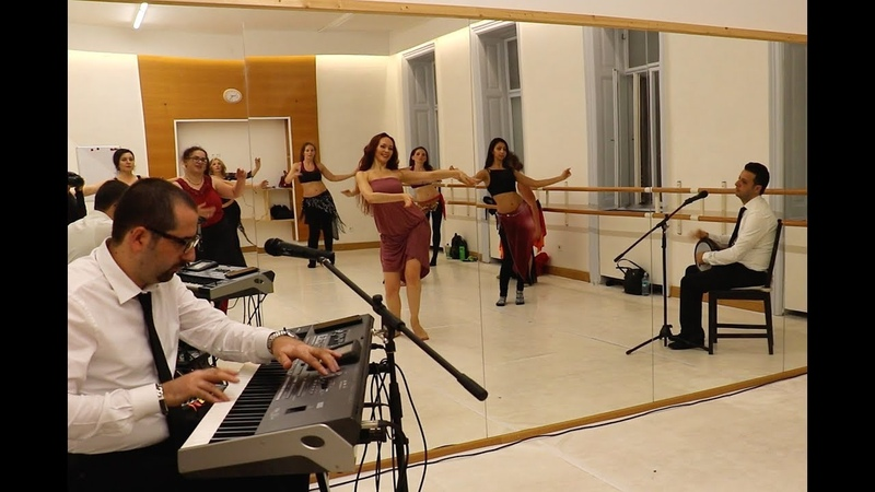 Fi Youm wa Leila improvisation - oriental dance class with live music