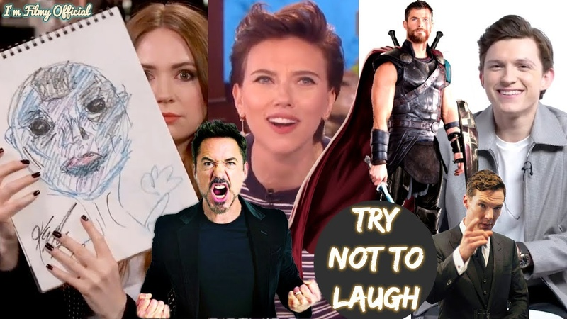 Avengers Infinity War Cast Play Funny Games(Part-2) - Try Not To Laugh 2018