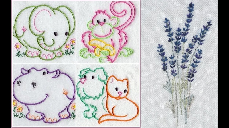 Embroidery designs for kids embroidery designs for beginners simple embroidery stitches