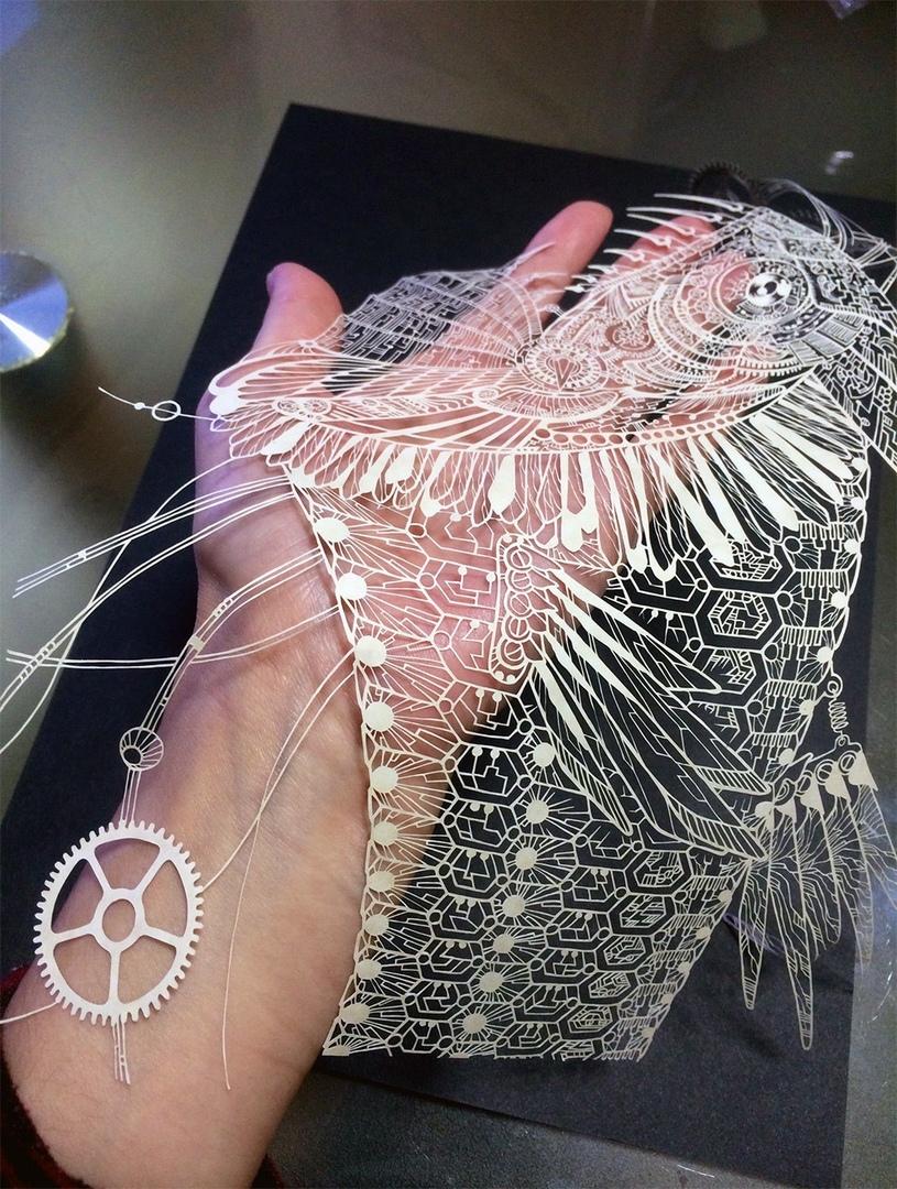 • Кири - японское традиционное искусство вырезания из бумаги