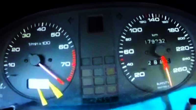 Audi 80 VR6 Turbo Brutal Acceleration 0-300