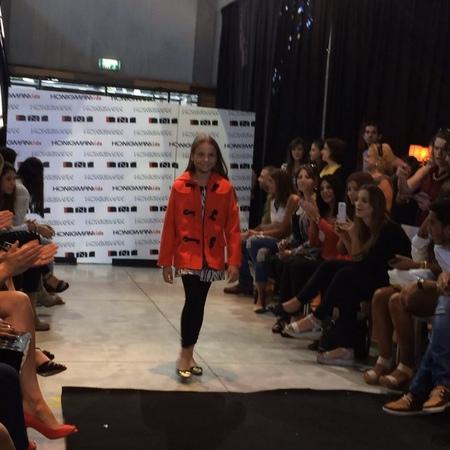 "Anastasya Averbukh on Instagram: ""Диана на показе коллекции зима 2014-2015, от Honigman Kids 09.09.2014, Тель Авив. דיאנה על מסלול אופנה של הוני..."