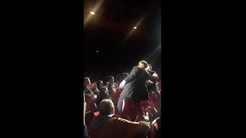 And more clapping for Pattinson at the end of The Lighthouse.' Cannes2019