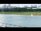 К-2 1000м (Жёлтая лодка, 5 вода) Первенство Москвы по гребле на байдарках и каноэ, финал.