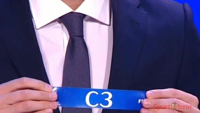 [CKY SPORTS] Жеребьевка Чемпионата мира по футболу 2018 1.12.2017