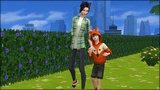 The Sims 4 - big sister and little brother