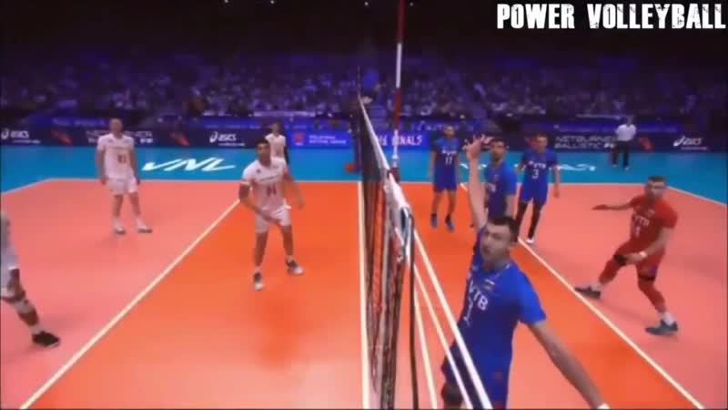 Volleyball Points Scores From Crazy Position (HD)