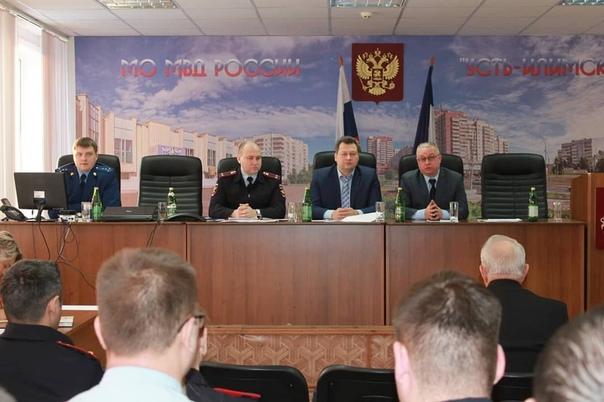 Полицейские Усть-Илимска подвели итоги работы за 2018 год