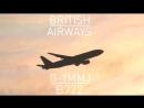 British Airways Boeing 777 посадка в Домодедово