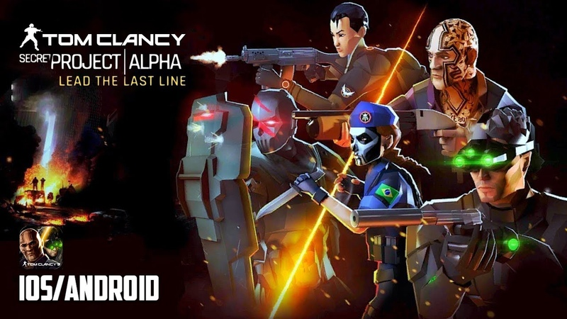 Tom Clancy's Secret Project Alpha - iOS / Android - FIRST GAMEPLAY