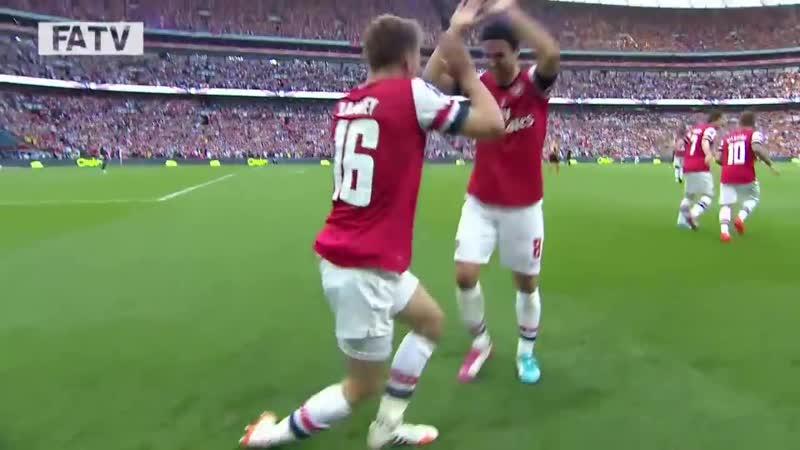 Финал Кубка Англии Арсенал 3 2 Халл Сити newsarsenal