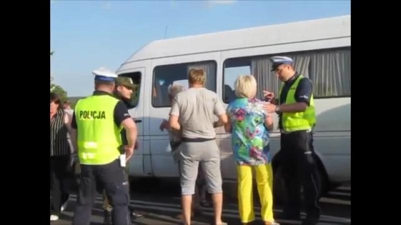 Конфликт на польско беларуской границе 02 06 2015