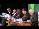 Путин принимает участие во встрече лидеров БРИКС с главами делегаций приглашённых государств — LIVE