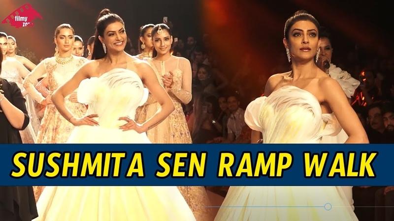 Sushmita Sen Ramp Walk At Bombay Times Fashion Week 2018 | Day 3 | Filmy Zone