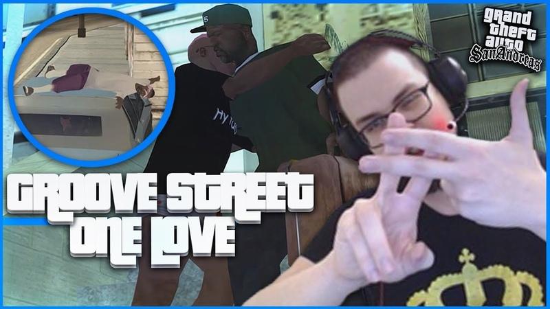 GROOVE STREET ONE LOVE ВОЗВРАЩЕНИЕ ДОМОЙ ПРОХОЖДЕНИЕ GTA SAN ANDREAS 31