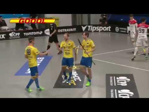 Highlights: FBC ČPP Bystroň Group OSTRAVA - TJ Znojmo LAUFEN CZ 15:4