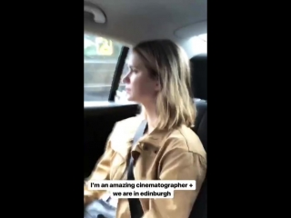 Elizabeth Lail @ Kathryn Gallagher Instagram stories, 07_08_18
