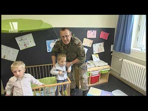 Mit Papi zum Dienst