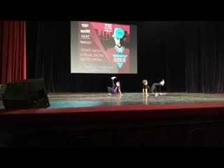 Inside dance festival   jamaica & anya