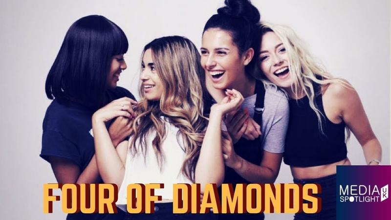 Four Of Diamonds Working with Burna Boy X Factor Love Island Jonas Blue Media Spotlight UK