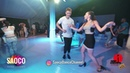 Sergey Bobkov and Anna Plashchinskaya Salsa Dancing in Malibu at The Third Front, Sun 05.08.18 (SC)